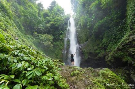 Objek Wisata Melanting Waterfall