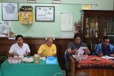 Rapat Membahas Persiapan Pelantikan Perbekel Antar Waktu Desa Gobleg