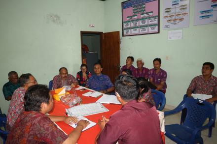 Rapat Koordinasi Perdana Bersama Perbekel Baru Desa Gobleg