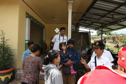Sidak Penduduk Non Permanen Desa Gobleg