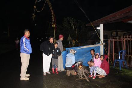 Nyakan Diwang, Tradisi unik Usai Nyepi di Desa Gobleg