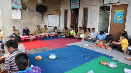 Sosialisasi Pemilihan BPD di Banjar Dinas Unusan