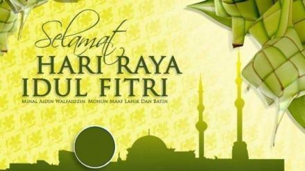 Pengumuman Cuti Bersama Idul Fitri
