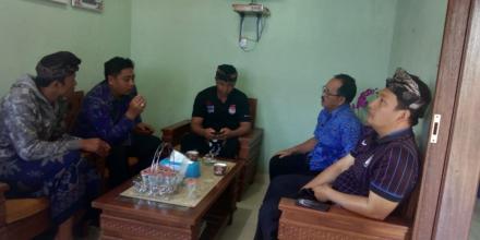 Koordinasi pihak kecamatan terkait kegiatan loka karya di Desa Gobleg