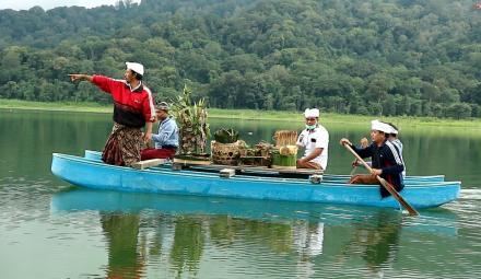Menjaga Kesucian dan Keharmonisan alam Bali, Pemkab Buleleng Gelar Upacara Mecaru Manca Kelud